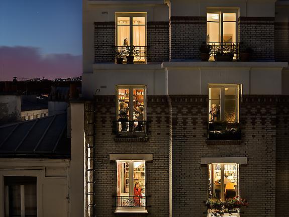 Le 1 novembre 2012, rue de Belleville, Paris-20e, 2012