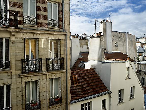 Le 3 novembre 2012, rue de la Cerisaie, Paris-4e