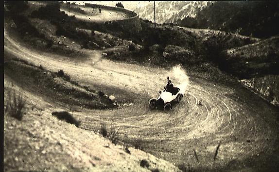 Motor Car onTrack, 1915 [JHL 637]