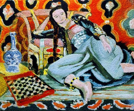 Odalisque with a Turkish Chair, After Henri Matisse, 2006 from Pictures of Pigment