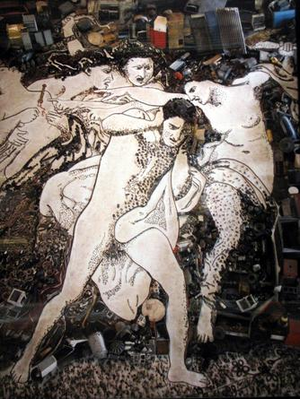 Orestes Pursued by the Furies, After Bourguereau, 2006 From Pictures of Junk