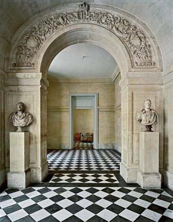 Vestibule de l'Escalier Louis Philippe, Corps Central - RdC, Versailles, 1986