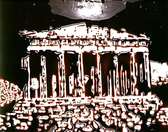 The Parthenon, 2003 From Pictures of Chocolate