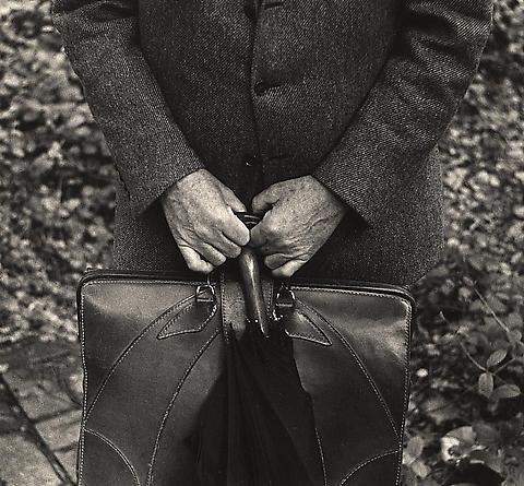 Paul, Briefcase and Umbrella, 1957