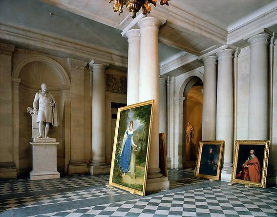 Vestibule, (73) AMI.01.009, Salles Empire, Aile du Midi - RdC, Versailles, 1985