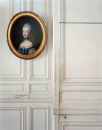 Portrait of Marie-Antoinette de Lorraine-Habsbourg, by Jean-Bapiste Charpentier, 1er Antichambre du Dauphin, (33A)CCE.01.034, Corps Central - RdC, Versailles, 2007