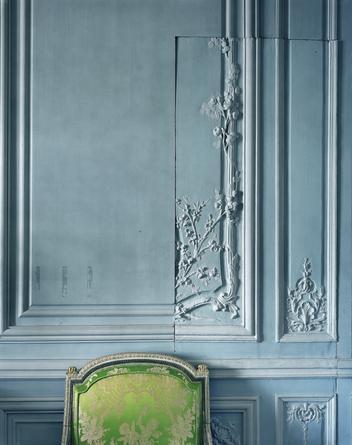 Boiserie detail by the Brothers Rousseau, Cabinet Intérieur de Madame Victoire, Corps Central, Versailles, 2008
