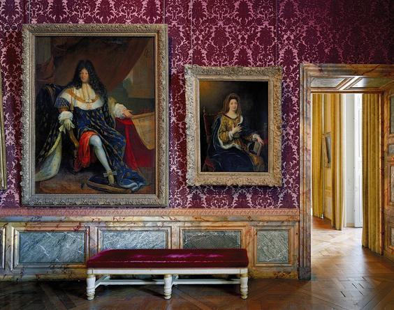 Salle St Cyr et de Madame de Maintenon, Salles du XVii, Aile du Nord - 1er Etage, Versailles, 2008