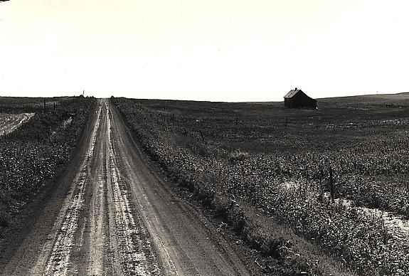 Road on the Great Plains, 1941