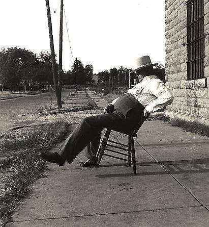 Sherriff, Waggoner, Oklahoma, 1937
