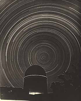 Star Trails around the South Celestial Pole