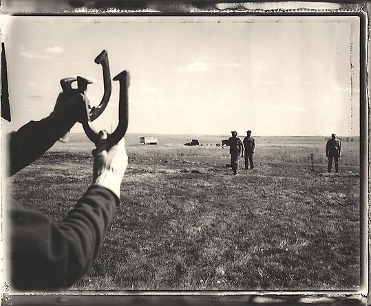 Sunday Horseshoes, Isabel, South Dakota, 2000