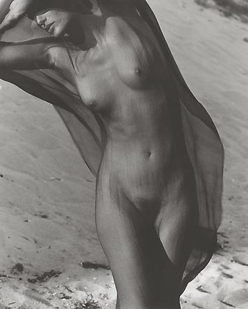 Female Figure with Veil 3, Paradise Cove, 1988