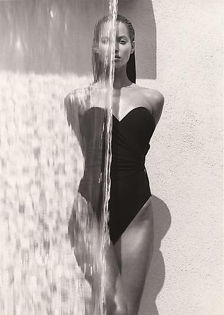Christy - Waterfall, Los Angeles, 1988