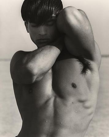 Versace - Male Figure Study, El Mirage, 1990