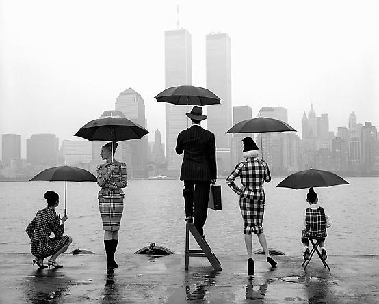 Skyline, Hudson River, New York, 1995