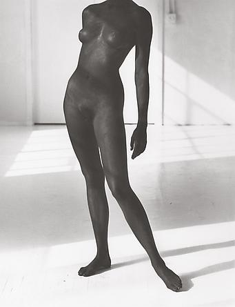 Black Female Figure 2, Los Angeles, 1987