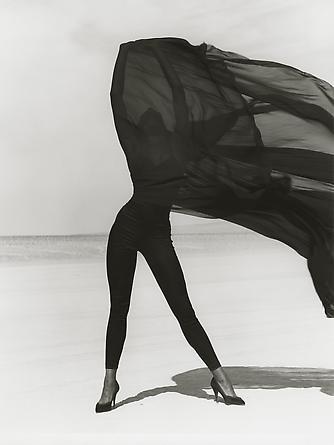 Naomi Campbell - Versace 3, El Mirage, 1990