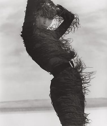 Christy Turlington - Versace 6, El Mirage, 1990