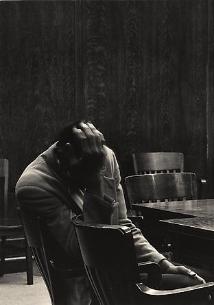 The Defendant, Alameda County Court House, California, 1955-57
