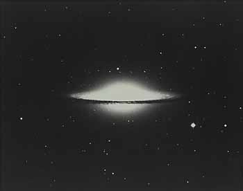 The Sombrero Galaxy, Messier 104 (wide field)