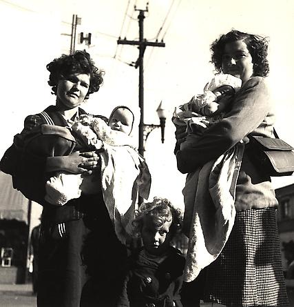 War Babies, Richmond, California, 1944