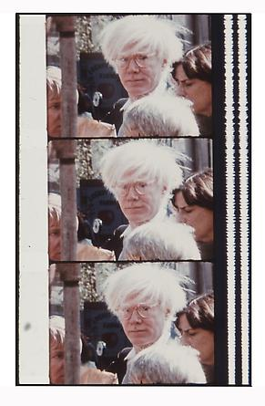 Jonas Mekas Warhol at the Farmer's Market, October 18, 1980