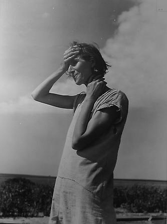 Woman of the High Plains, Texas Panhandle, 1938