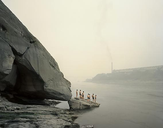 Yibin I (Bathers), Sichuan Province, 2007