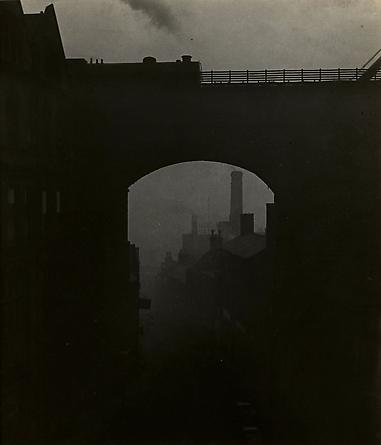 Train Leaving Newcastle Upon Tyne, 1937