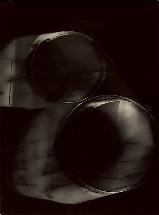 """Untitled (rayograph) (""""Essai pour le livre d'Adonis Kyrov""""), 1951-52"""