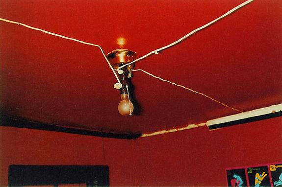 William Eggleston Greenwood, Mississippi (Red Ceiling), 1973