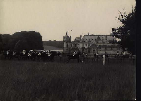 Le Chateau de Chantilly, 1931