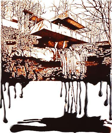 Vik Muniz Fallingwater (Edgar J. Kaufmann Sr. residence), 2009