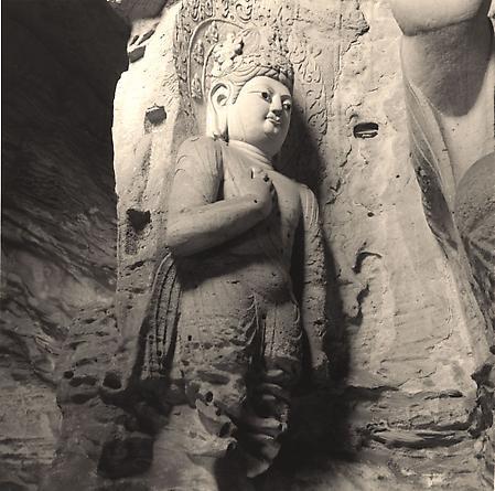 Arhat, Yungang Caves, 2001