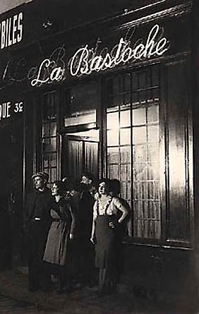 Brassaï, La Bastoche, c. 1932
