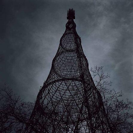 Shukhov Television Tower, Moscow, Russia (Architect: Vladimir Grigoryerich Shukhov, 1922), 2003 [#10]