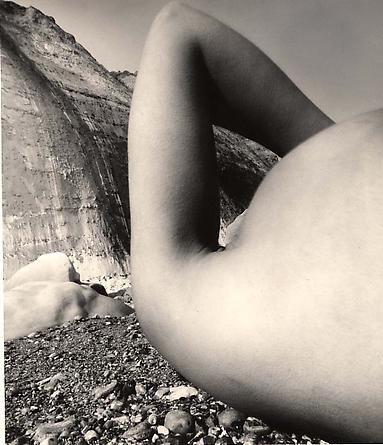 Nude, Vastiveral Beach, Normandy, 1957