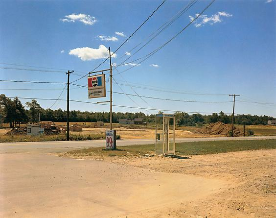 Stephen Shore U.S. 1, Arundel, Maine, July 17, 1974