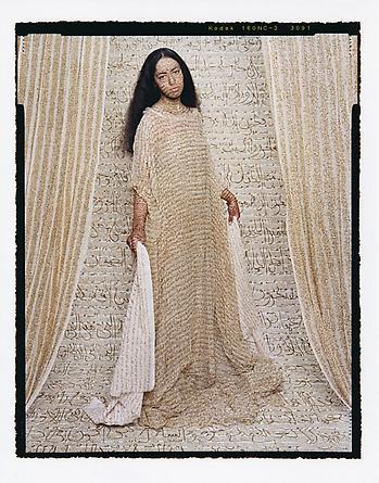 Les Femmes du Maroc: Standing Odalisque #3, 2008