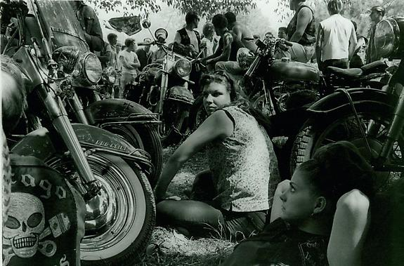 Outlaw Camp at Muskegon, Michigan, 1966
