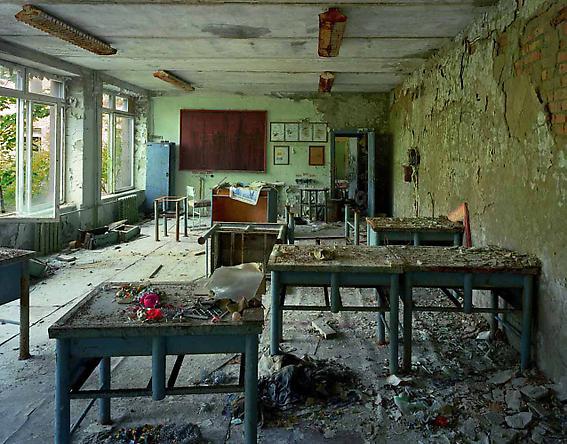 Classroom in School #5, 2001