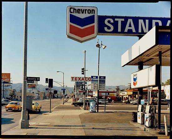 Stephen Shore La Brea Avenue and Beverly Boulevard, Los Angeles, California, June 21, 1975