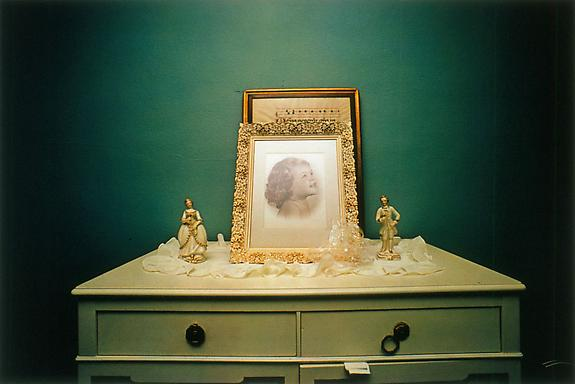 William Eggleston Untitled (Photograph of Child on Bureau), Sumner, MS, 1970 [From Dust Bells 2]