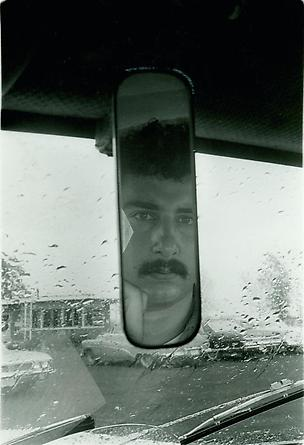 Self Portrait in a Car Mirror, Chicago, 1965