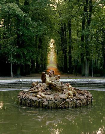 Bassins des Saisons, L'Hiver ou Saturne by Giarardon, Versailles, 1985
