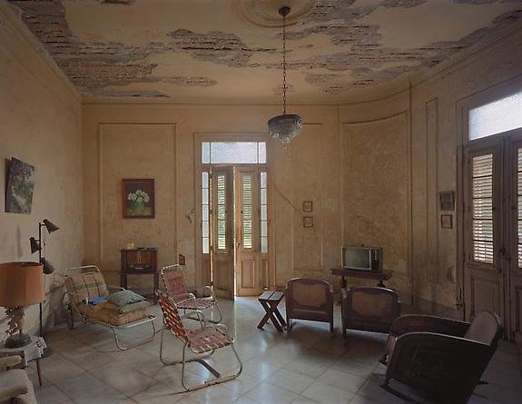 Robert Polidori Alonso Family Residence, 6 # 152 (at the corner of Calzada), Vedado, Havana, 1997