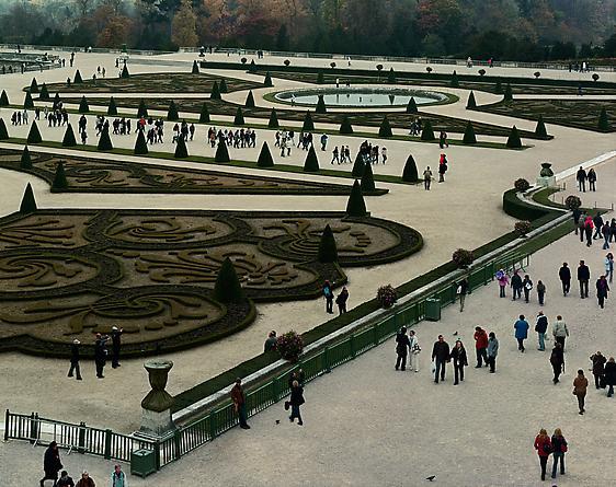 Vue of Parterre du Midi, #1, Versailles, 2007