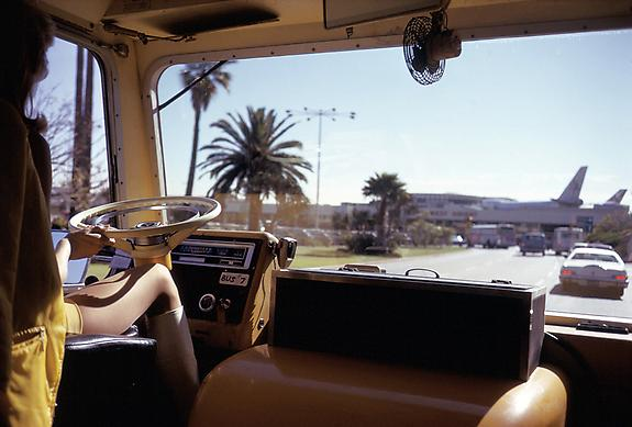 Joel Meyerowitz Los Angeles Airport, California, 1974