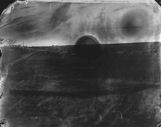 Untitled, 2001 Battlefields, Antietam #21: Black Sun